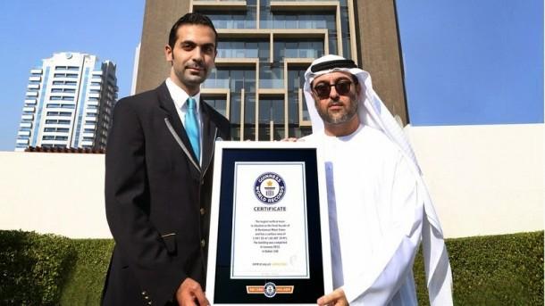 The Maze Tower es el laberinto vertical más grande del mundo en Dubai 2