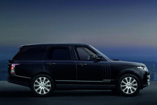 Range Rover Sentinel puede sobrevivir a un TNT Blast 4 de 33 libras