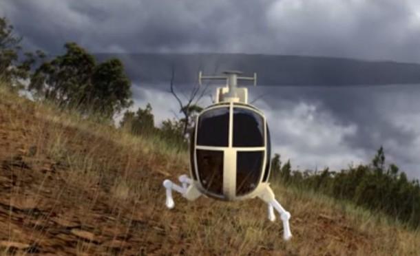DARPA demuestra tren de aterrizaje robótico para helicópteros 2