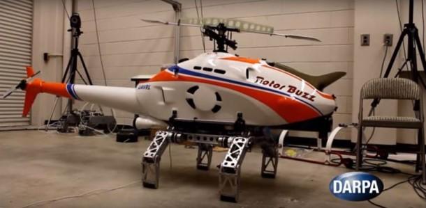 DARPA demuestra tren de aterrizaje robótico para helicópteros 5