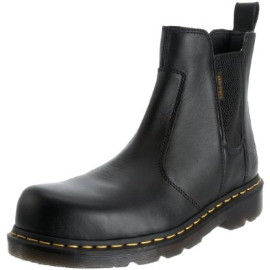 Dr. Martens - Zapatos de trabajo con punta de seguridad para hombres, Fusion, para ingenieros