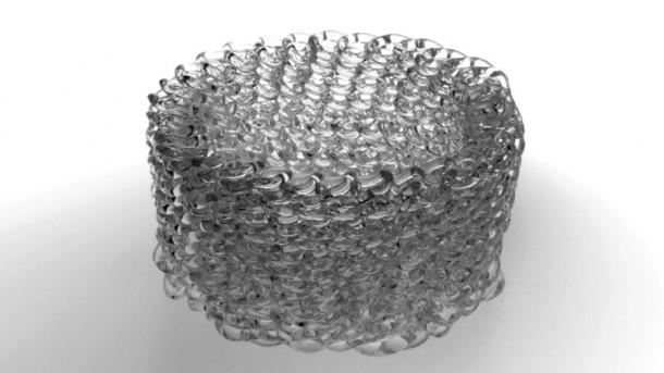 Impresora 3 D mediada por vidrio 4