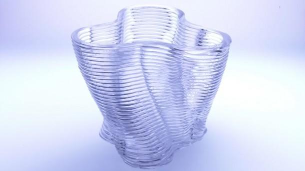 Impresora 3 D mediada por vidrio3