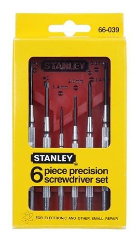 Juegos de destornilladores pequeños Stanley 66-039