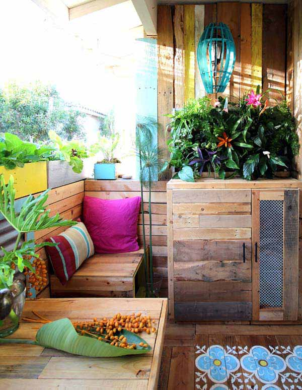 26 increíbles ideas para sentarse al aire libre 25a