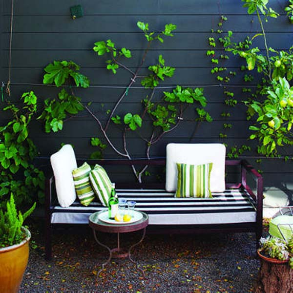 26 Asombrosas ideas para sentarse al aire libre 24