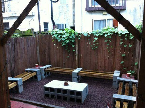 26 increíbles ideas para sentarse al aire libre 9