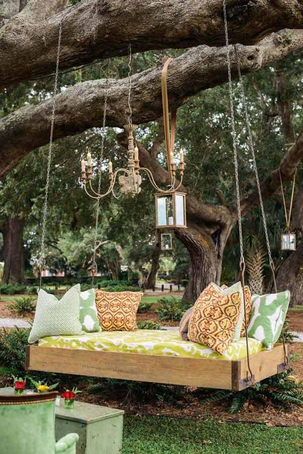 26 increíbles ideas para sentarse al aire libre 5