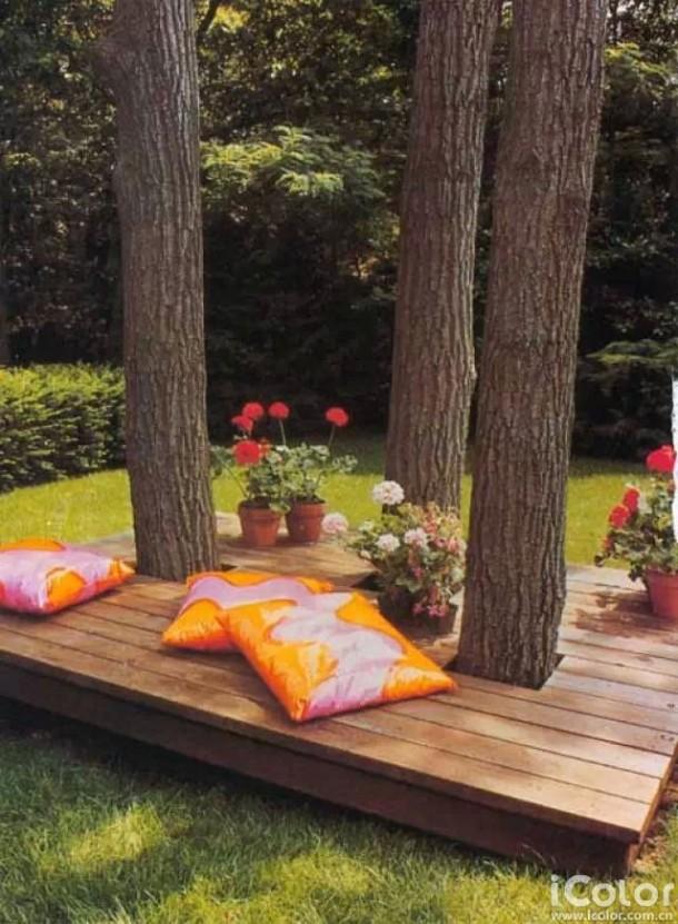 26 increíbles ideas para sentarse al aire libre 4