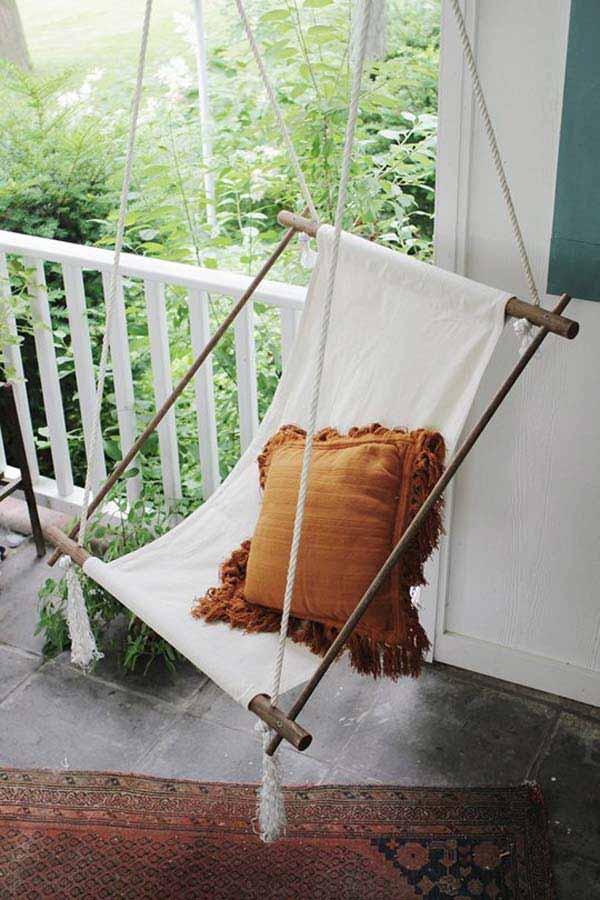 26 increíbles ideas para sentarse al aire libre 2