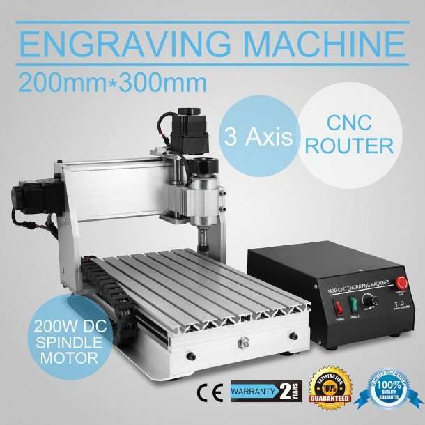 Fresadoras de escritorio Eteyo CNC 3020t
