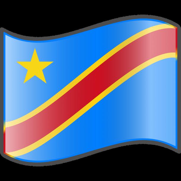 Bandera de la República Democrática del Congo (7)