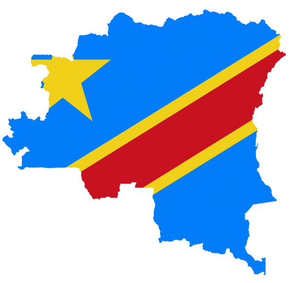Bandera de la República Democrática del Congo bandera (8)