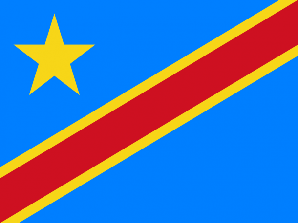 Bandera de la República Democrática del Congo bandera (16)