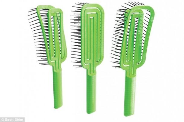 Maze Hairbrush hace que la limpieza sea un proceso de segundos