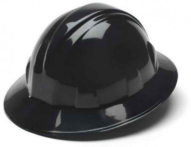 Sombreros duros Pyramex Full Brim Style 4 Ratchet Ratchet Suspension para seguridad y comodidad