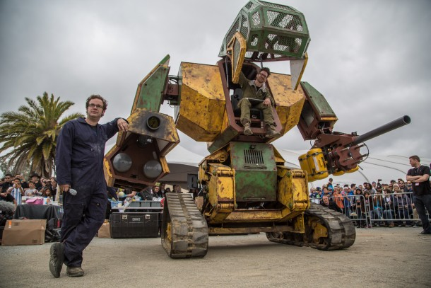 Megabots y NASA2