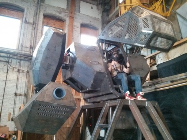 Megabots y NASA4