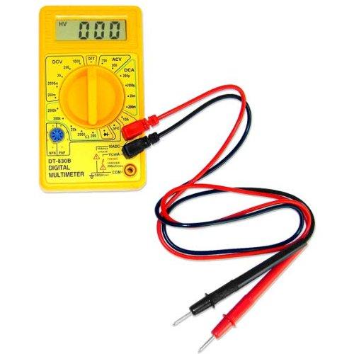 Multímetros digitales LCD DT830B