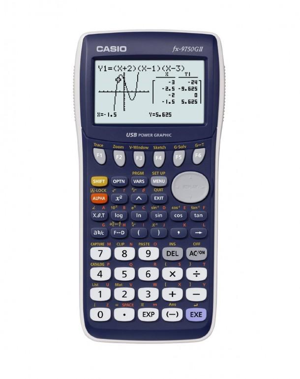Calculadoras gráficas Casio fx-9750GII para ingenieros