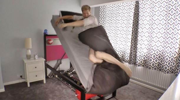 Esta cama lo sacará del sueño, literalmente 4