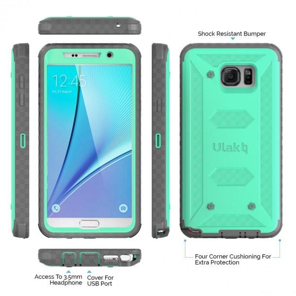 Los mejores estuches para Samsung Galaxy Note 5 (8)