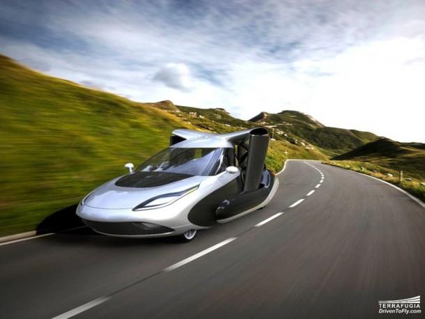 Terrafugia quita los velos del nuevo diseño para Autonomous Flying Car 4