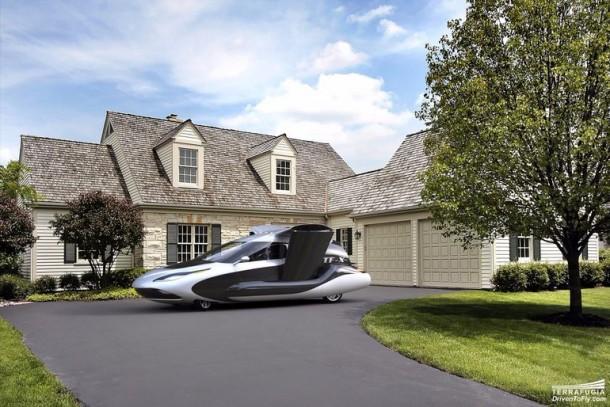 Terrafugia quita los velos del nuevo diseño para Autonomous Flying Car 3