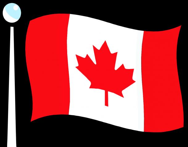 Bandera de Canadá (4)
