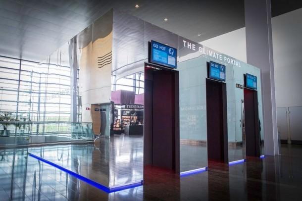 Experimente el clima con anticipación en el aeropuerto de Estocolmo Arlanda