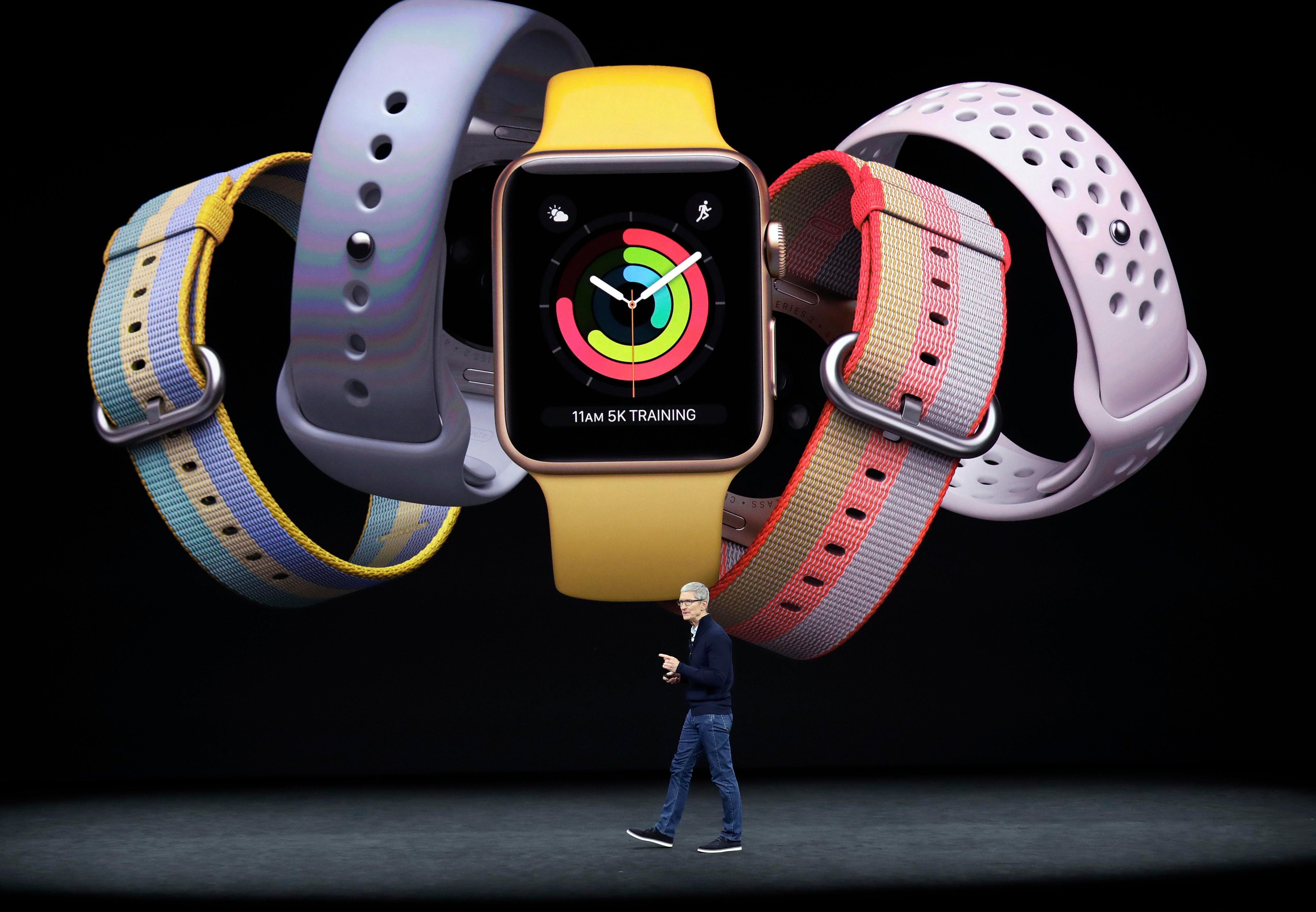 El nuevo reloj estará disponible en cinco colores diferentes.