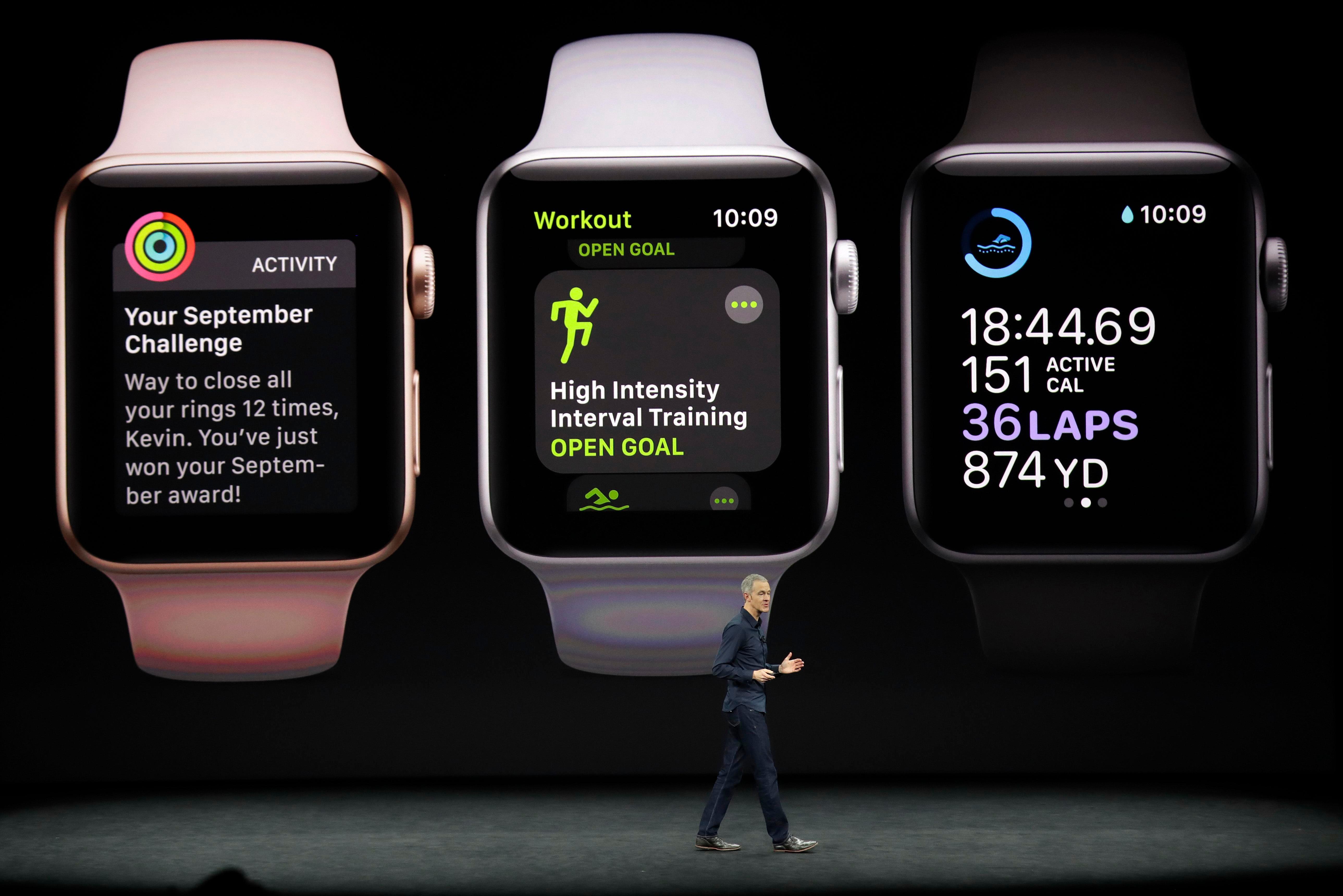 El nuevo reloj es el tercero en la oferta de Apple.
