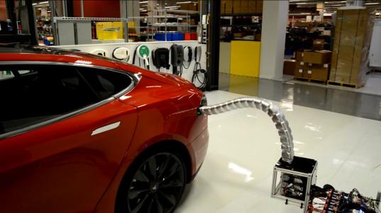 Carga eléctrica Tesla