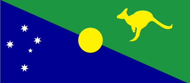 Bandera de la Isla de Navidad (5)