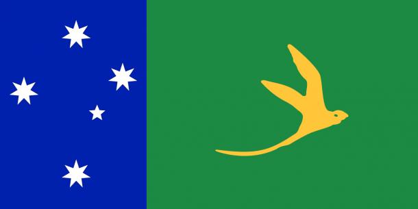 Bandera de la Isla de Navidad (19)
