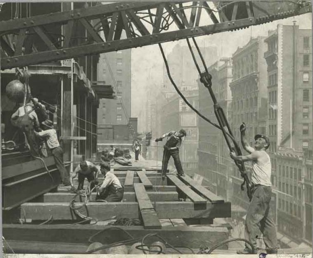 Empire State Building Construction 2