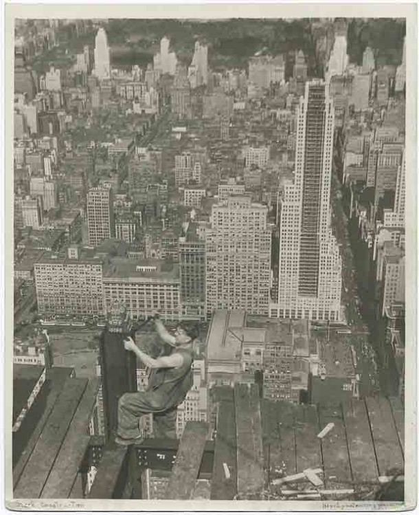 Empire State Building Construction 7