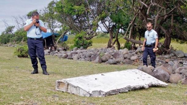 Residuos MH370