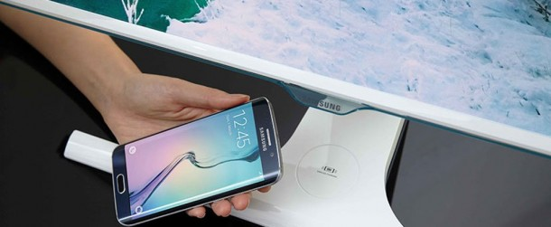 Samsung ha diseñado un monitor que ofrece carga inalámbrica