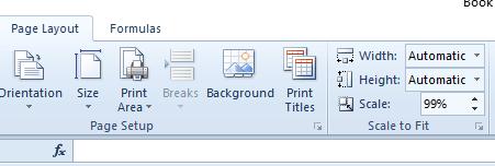 Los bordes de la hoja de cálculo de Excel del cuadro de escala y las líneas de cuadrícula no se imprimen