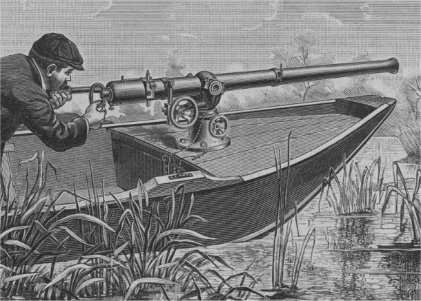 pistola de batea