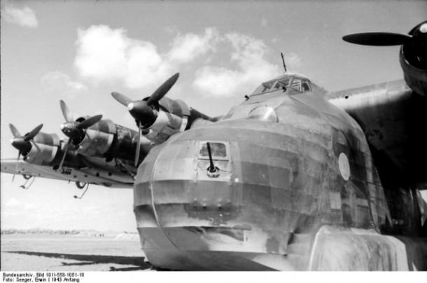 Avión nazi ME-32315