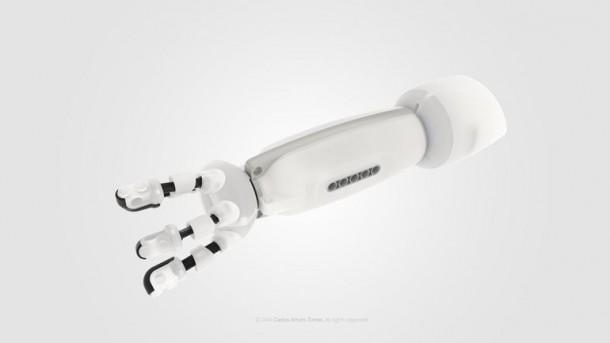 Prótesis compatible con LEGO 6