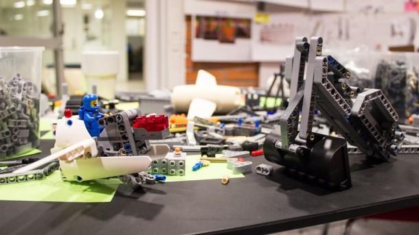 Prótesis compatible con LEGO 2