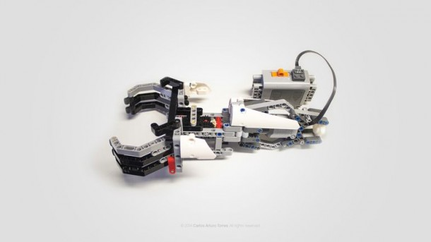 Prótesis compatible con LEGO