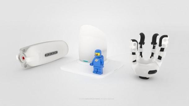 Prótesis compatible con LEGO 5