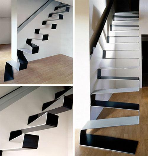 Echa un vistazo a estas increíbles escaleras