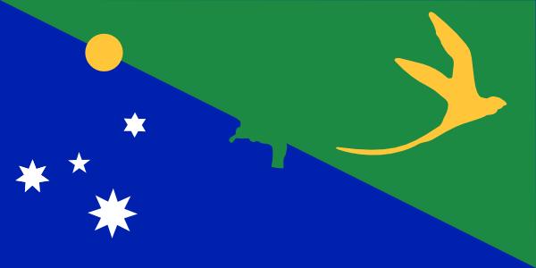 Bandera de la Isla de Navidad (1)