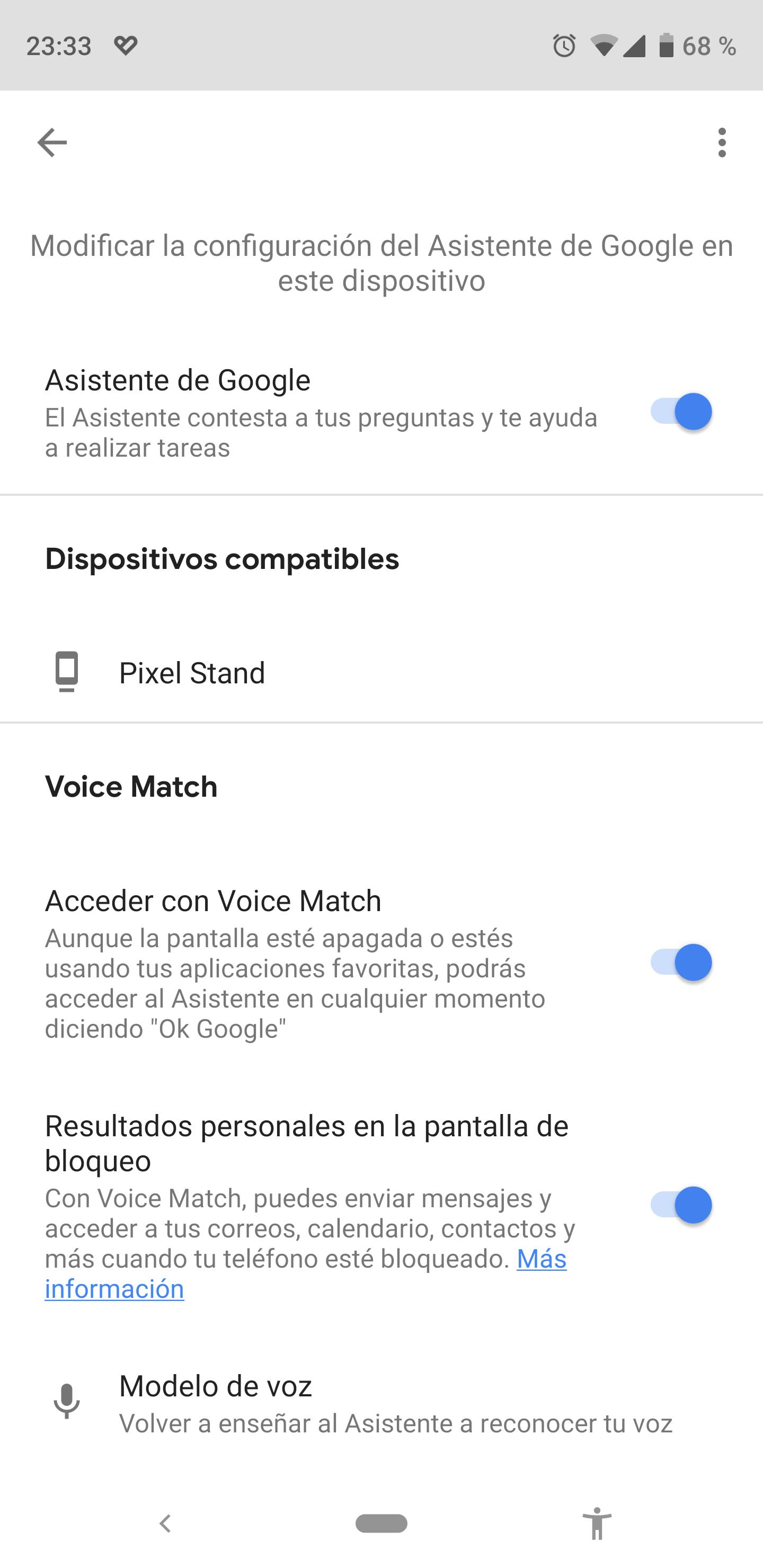 Deshabilitar el Asistente de Google en Android
