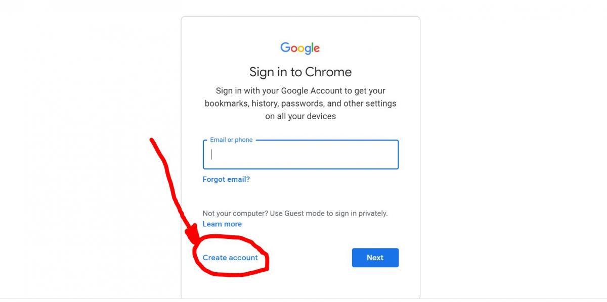 Acceso a los servicios de Google en la PC 2
